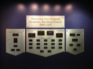 EHS Donor Wall